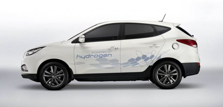 Foto Hyundai ix35 Fuel Cell