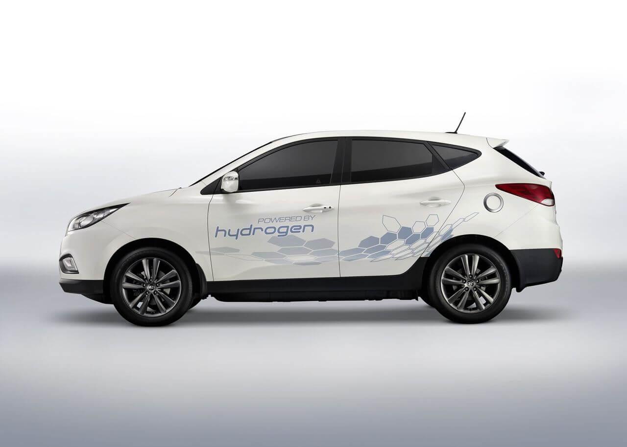 Foto Hyundai ix35 Fuel Cell